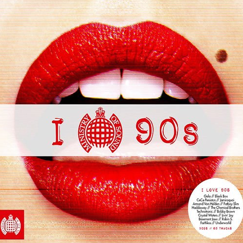 VA - Ministry Of Sounds: I Love The 90s (2016)
