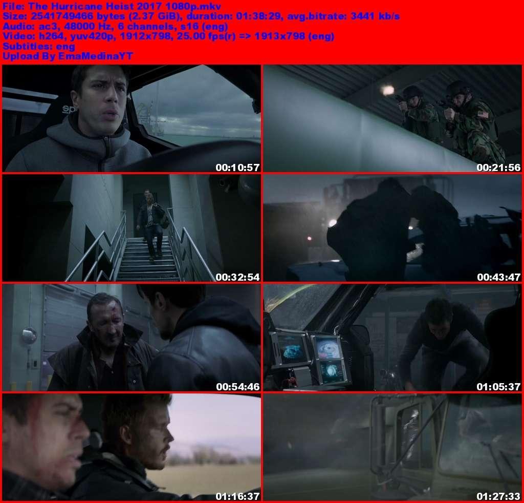 The Hurricane Heist [2018] [1080p] [Ingles] [HDRip x264] [VS]