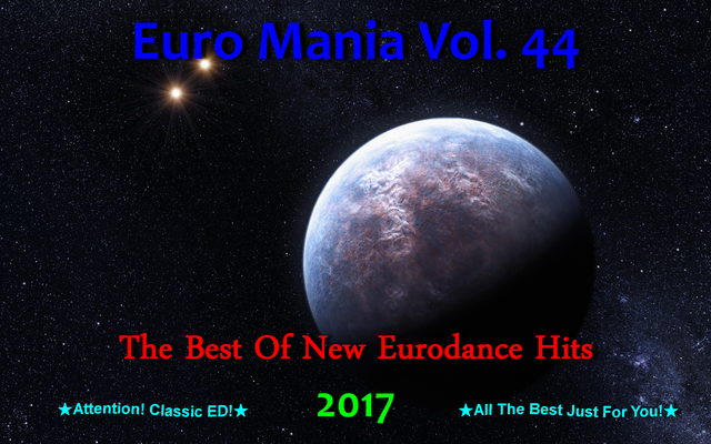 Euro Mania Vol. 44 (2017) front