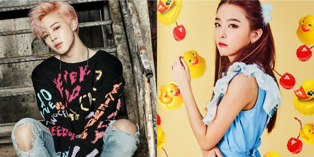 Netizens stir up dating rumors between BTS' Jimin and Red Velvet's Seulgi