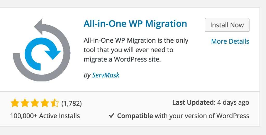 Extension,Migration,All in One WP Migration,plugin wordpress,wordpress
