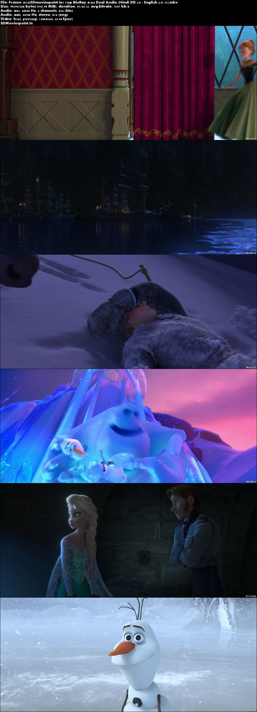 Screen Shots Frozen (2013) Full HD Movie Download Hindi Dual Audio Free 720p
