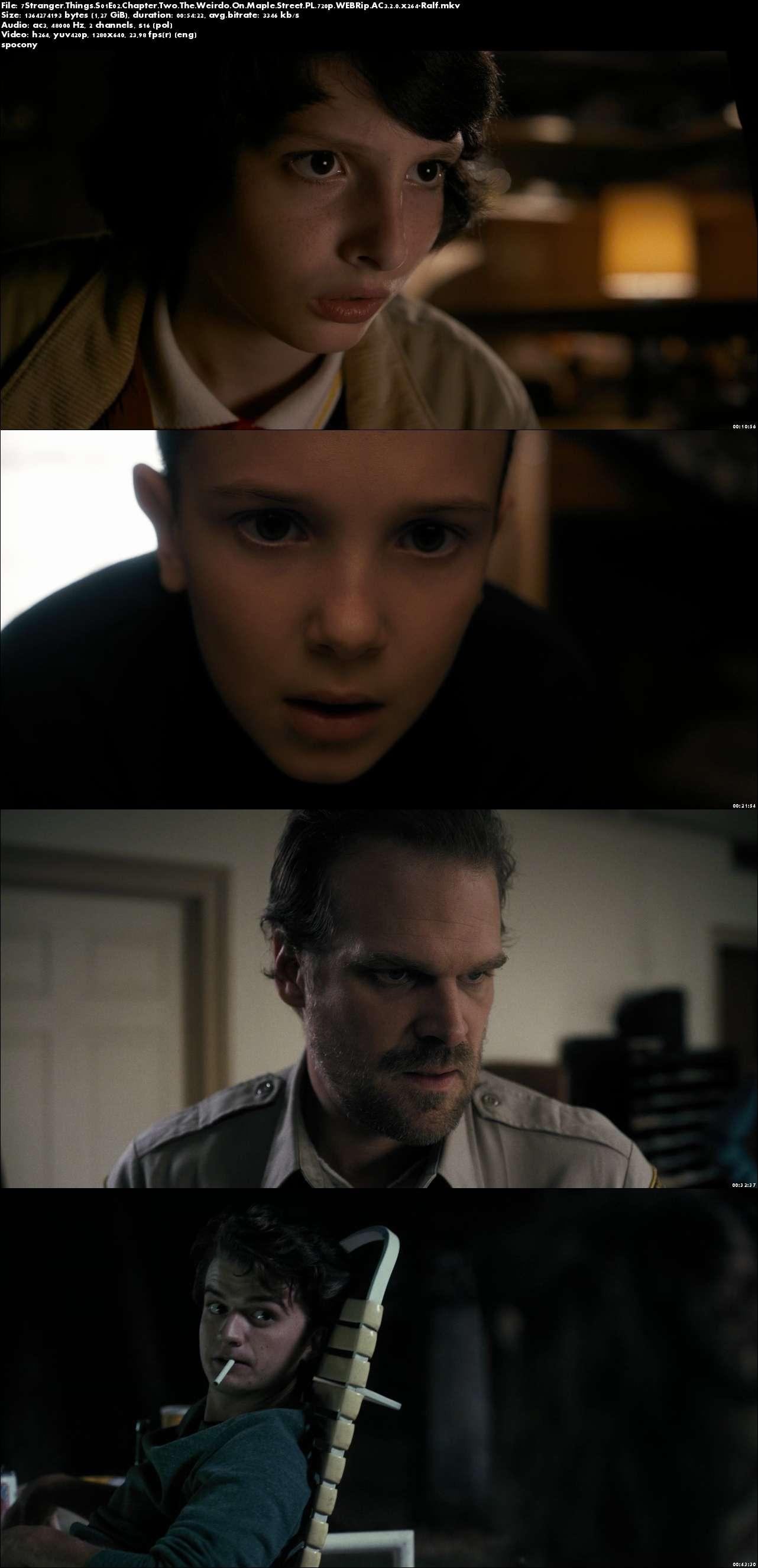 Stranger Things (2016) {Sezon 1} (Pełen sezon) PL.720p.WEBRip.AC3.2.0.x264-Ralf [Lektor PL]