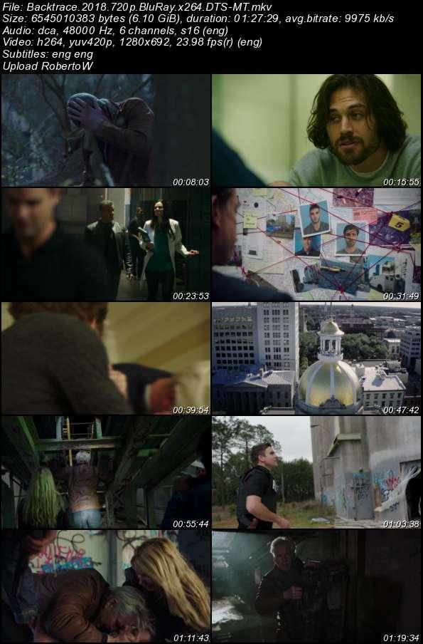Backtrace (2018) 720p BluRay