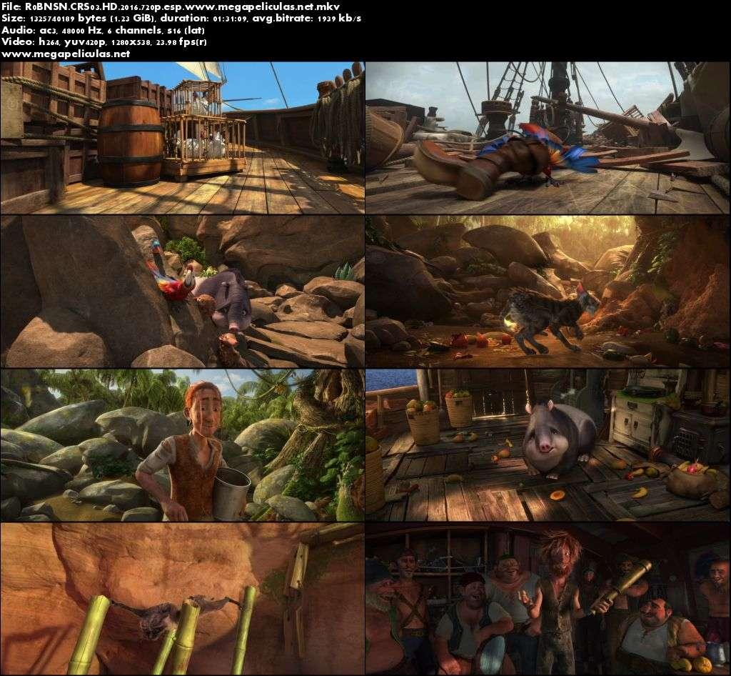 Capturas de Las Locuras De Robinson Crusoe (2016) [BrRip 720p][Latino]