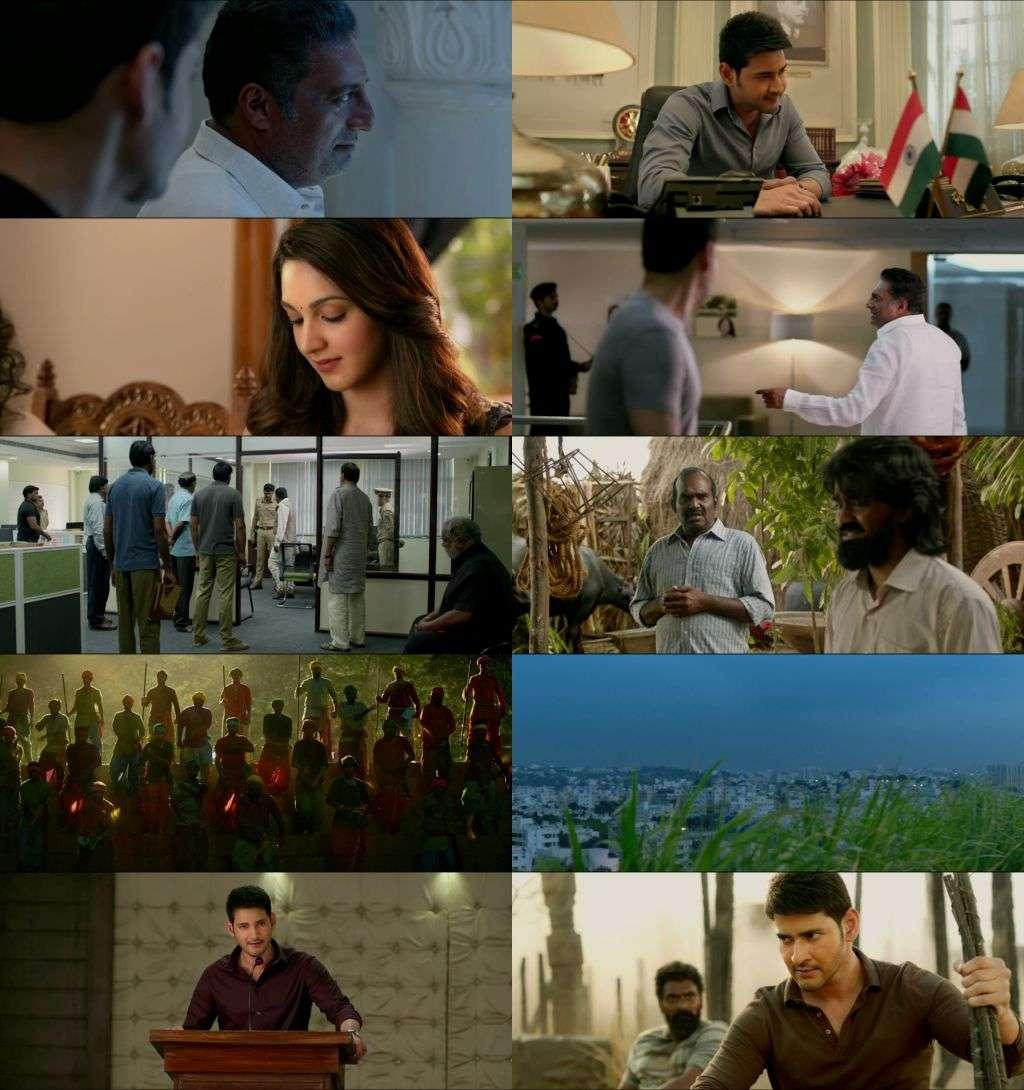 Bharat Ane Nenu (2018) Telugu - 720p - WEB-DL - x264 - AAC - Esub-SAMNhaNc3