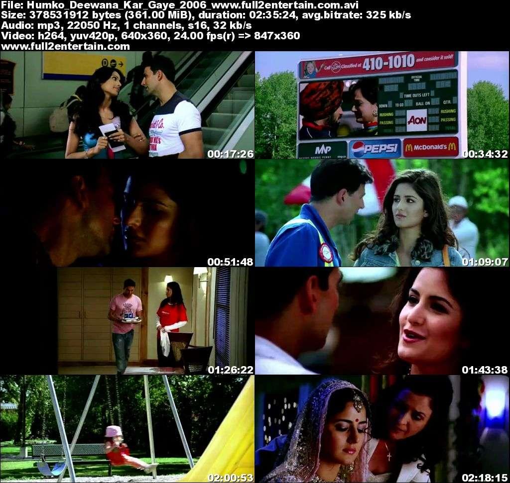 Humko Deewana Kar Gaye 2006 Full Movie Download Free in Dvdrip 480p