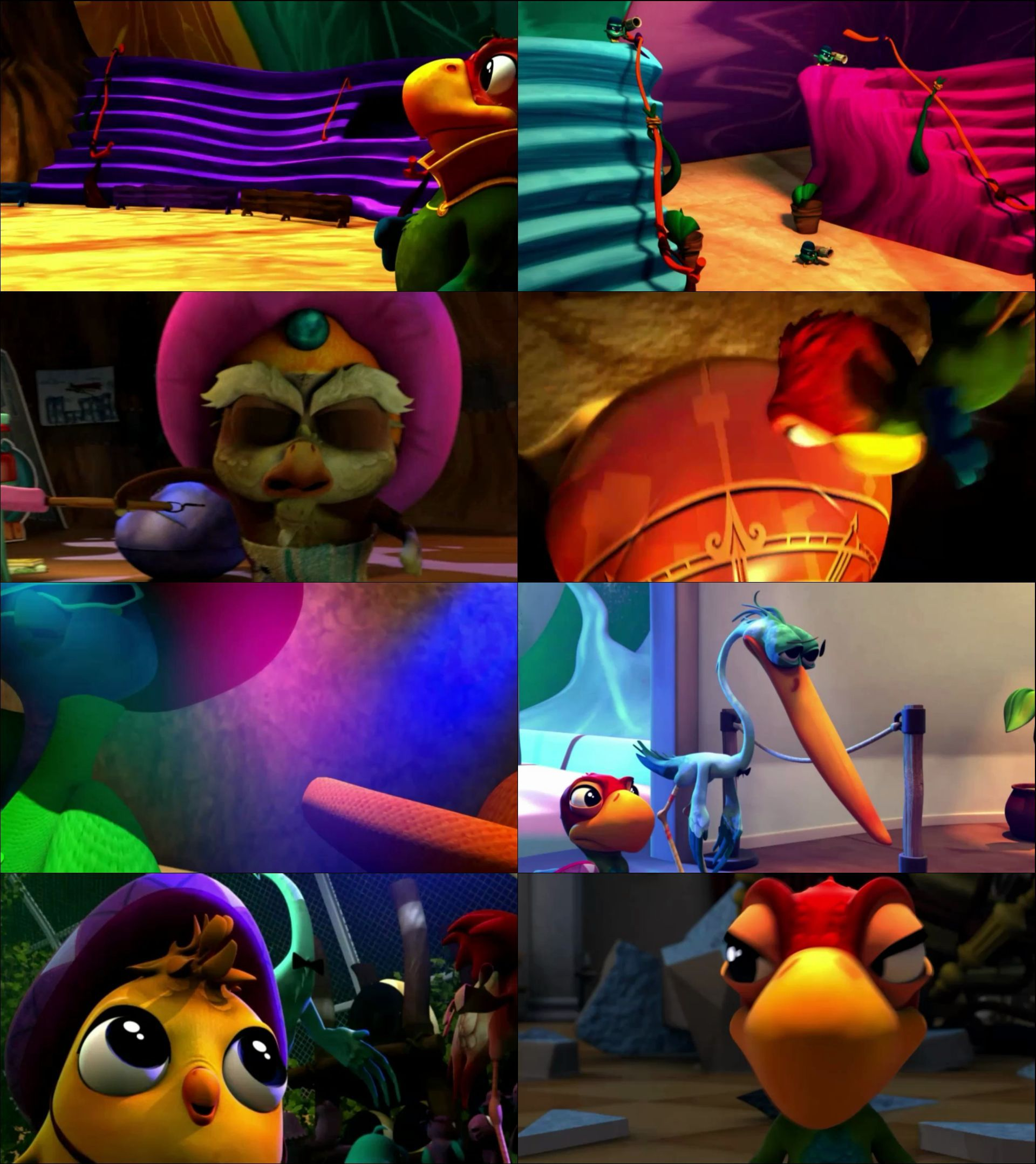 Süper Papağan (2015) türkçe dublaj animasyon film indir