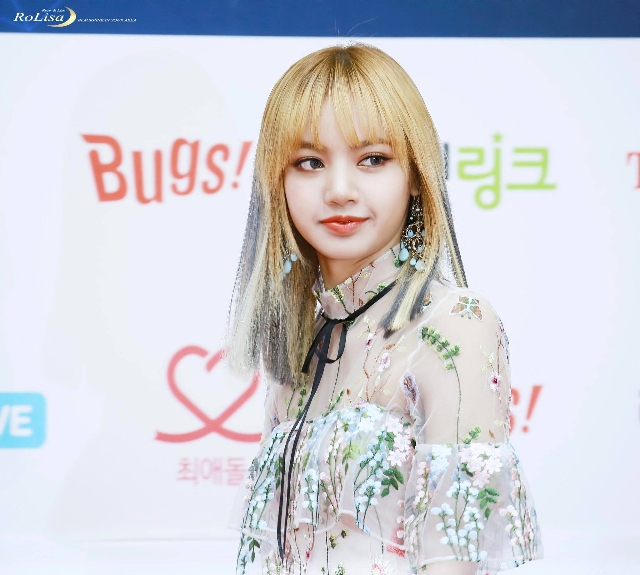 BLACKPINK Lisa Shocks Reporters With Sexy See-Through Dress