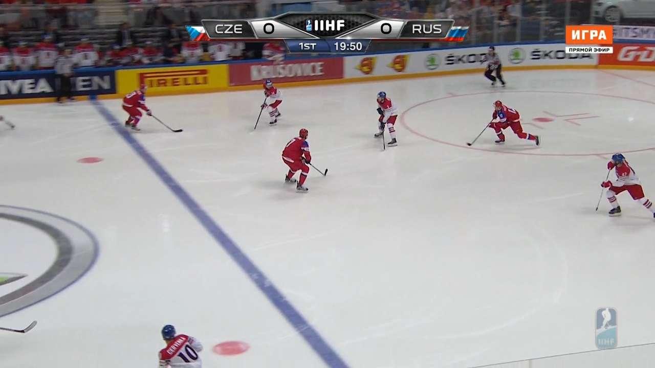 Хоккей. Чемпионат мира 2016. Группа A. 1 тур. Чехия - Россия [06.05] | HDTVRip 720p | 50 fps