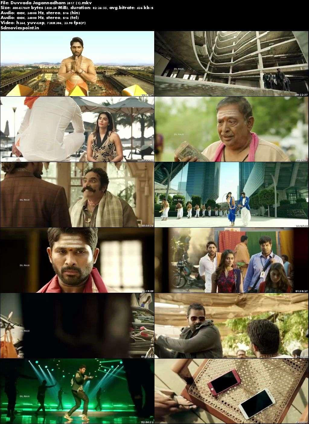 Screen Shot Duvvada Jagannadham 2017 300MB Movie Download Hindi Dubbed HD Free