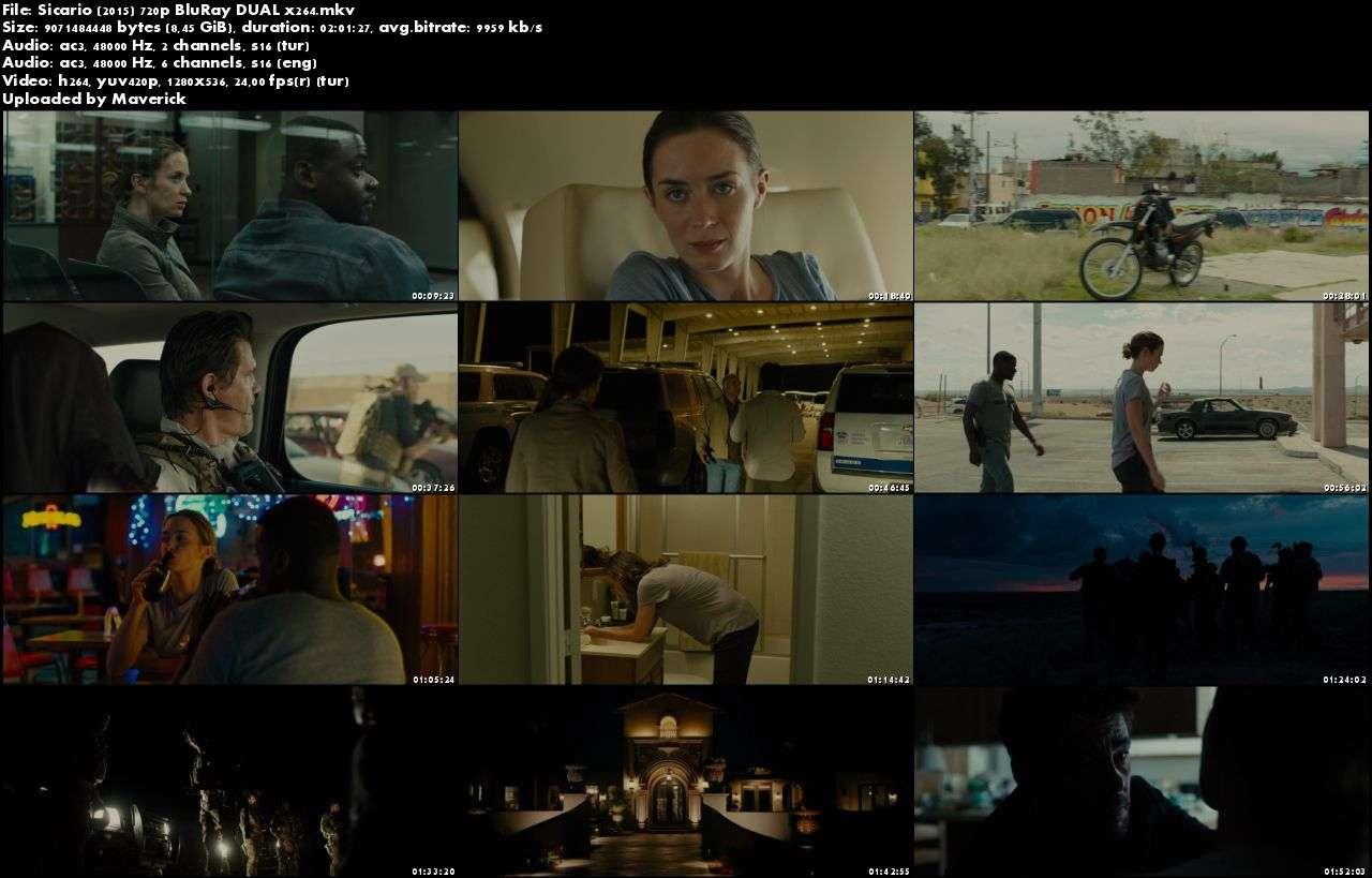 Sicario - 2015 BluRay (720p - 1080p) DuaL MKV indir