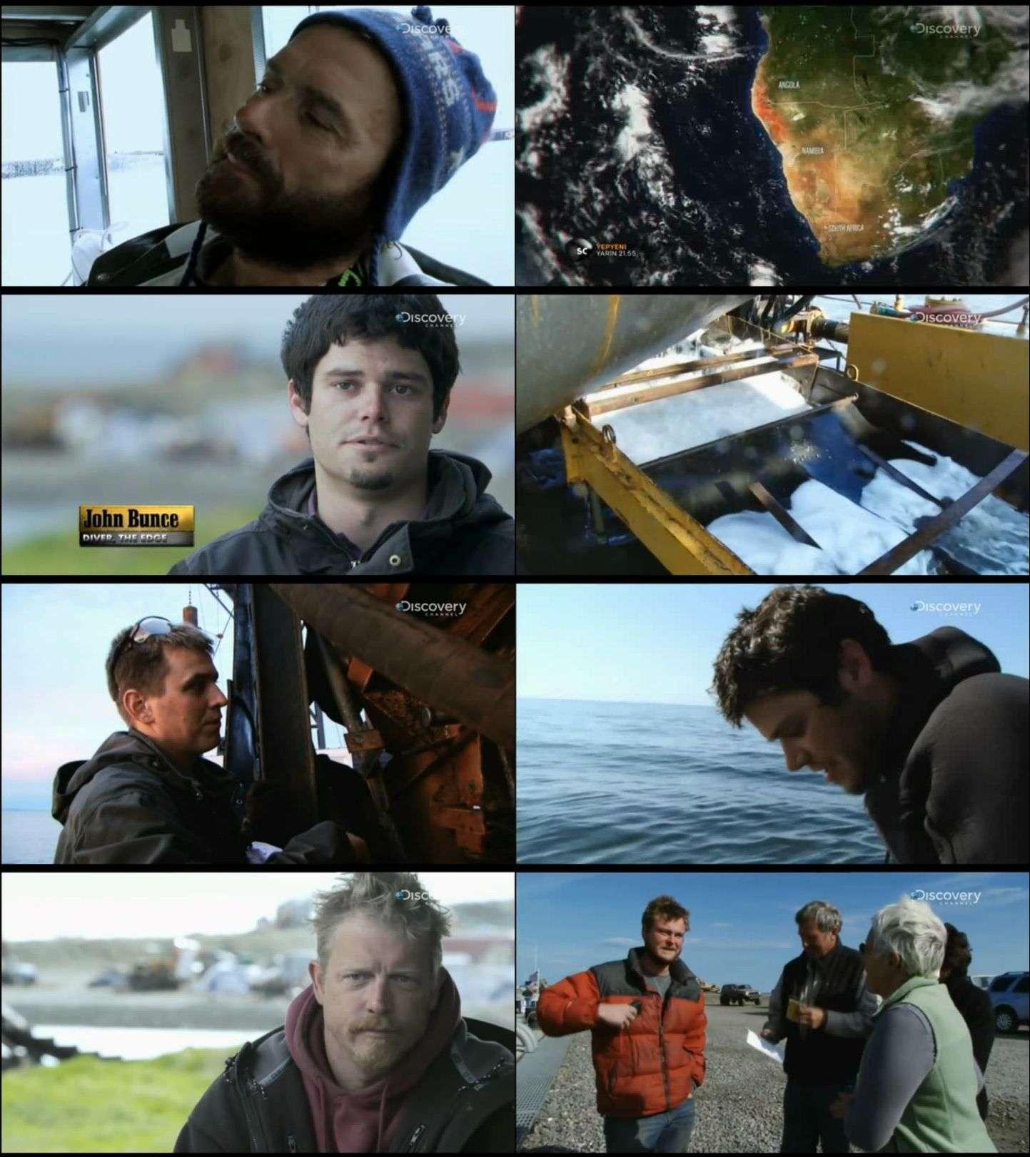 Discovery Channel - Bering Boğazında Altın belgesel serisi türkçe dublaj indir