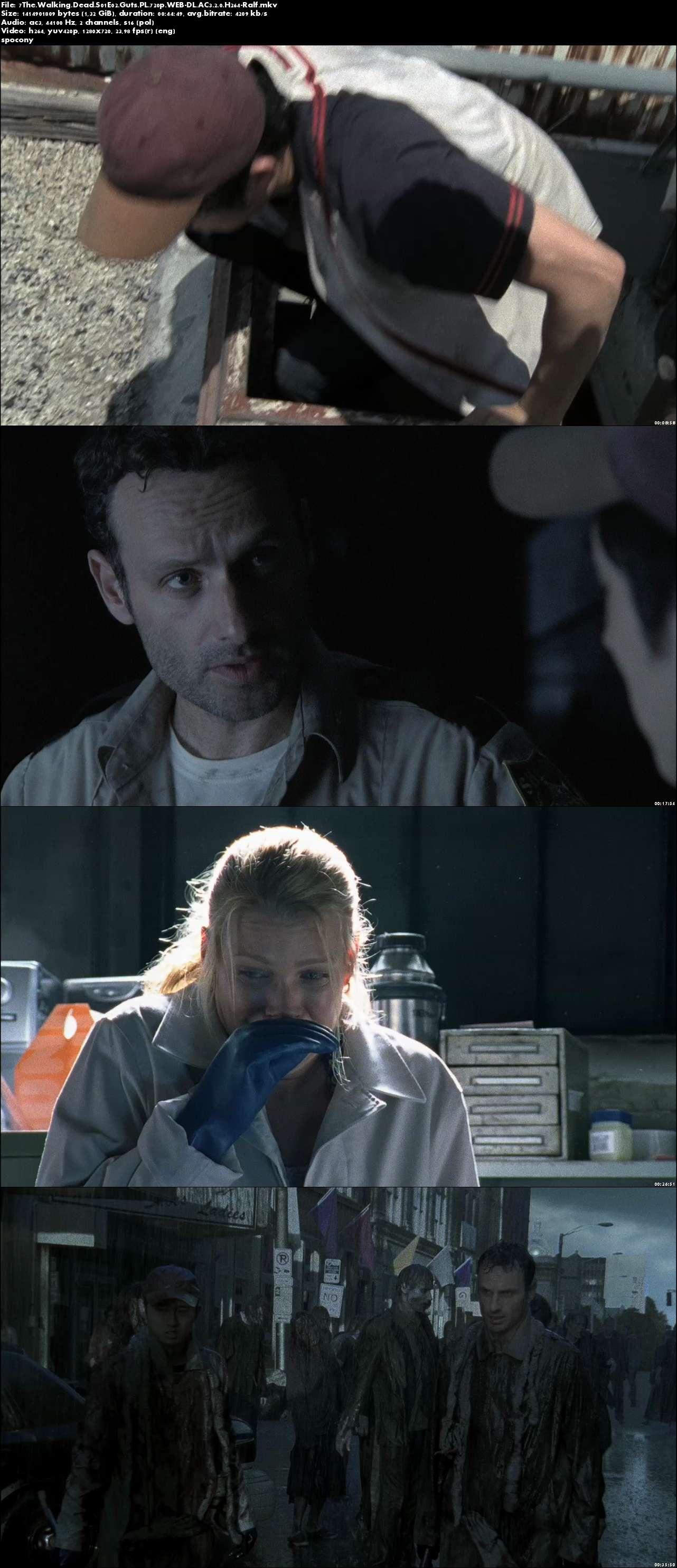 Żywe Trupy / The Walking Dead (2010) {Sezon 1} (Pełen sezon) PL.720p.WEB-DL.AC3.2.0.H264-Ralf [Lektor PL]