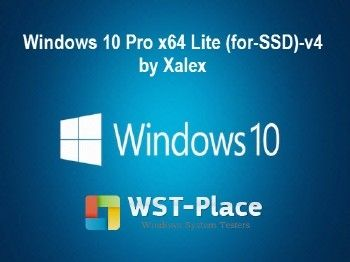 Windows 10 Pro x64 Lite (for-SSD)-v4 Xalex