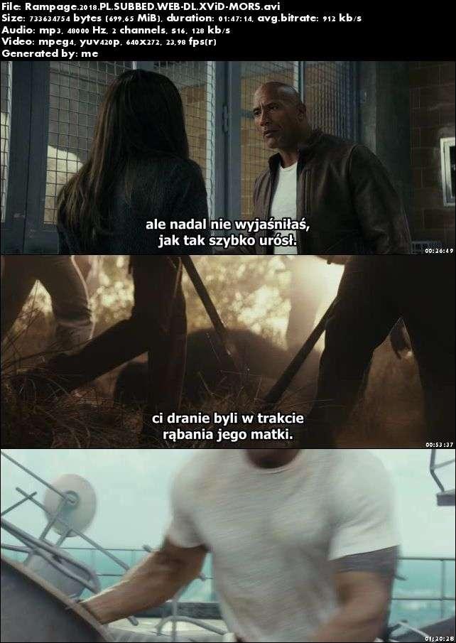Rampage: Dzika furia / Rampage (2018)