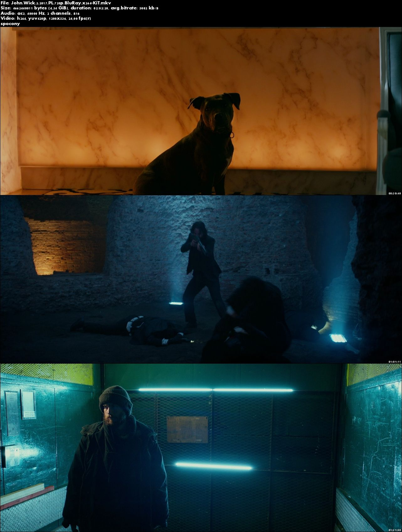 John Wick 2 (2017) PL.720p.BluRay.x264-KiT [Lektor PL]