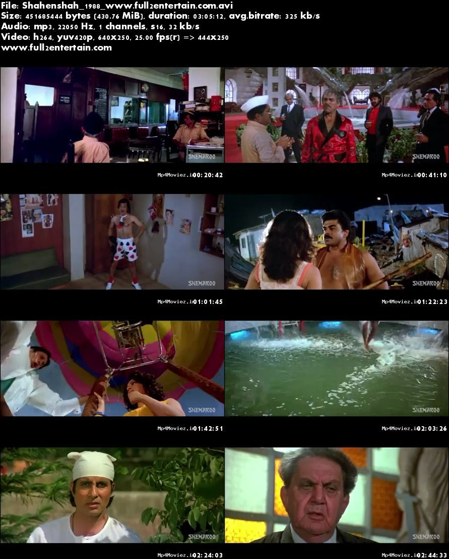 Shahenshah 1988 Full Movie Download Free in Bluray 720p