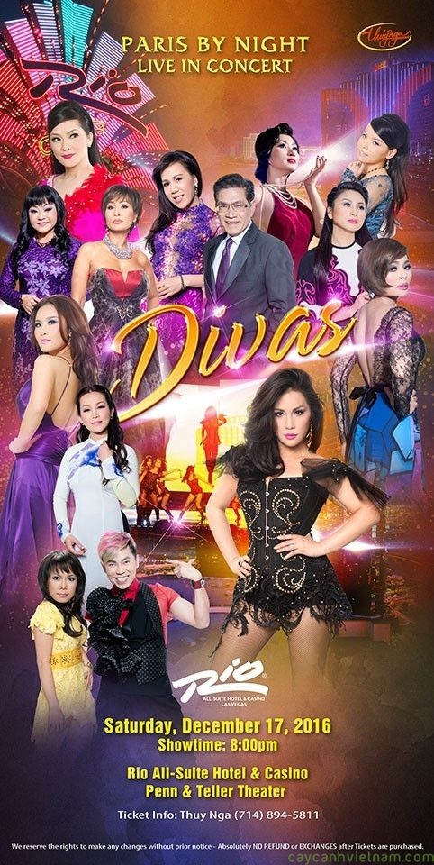 Paris By Night DIVAS 2016 in Las Vegas DVD9/720p/MKV