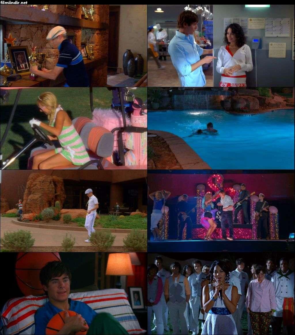 Yıldızlar Takımı 2 - High School Musical 2 (2007) full türkçe dublaj film indir