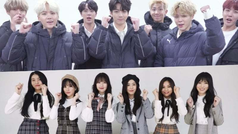 Watch: K-Pop Stars Cheer On Students Taking The College Entrance Exam