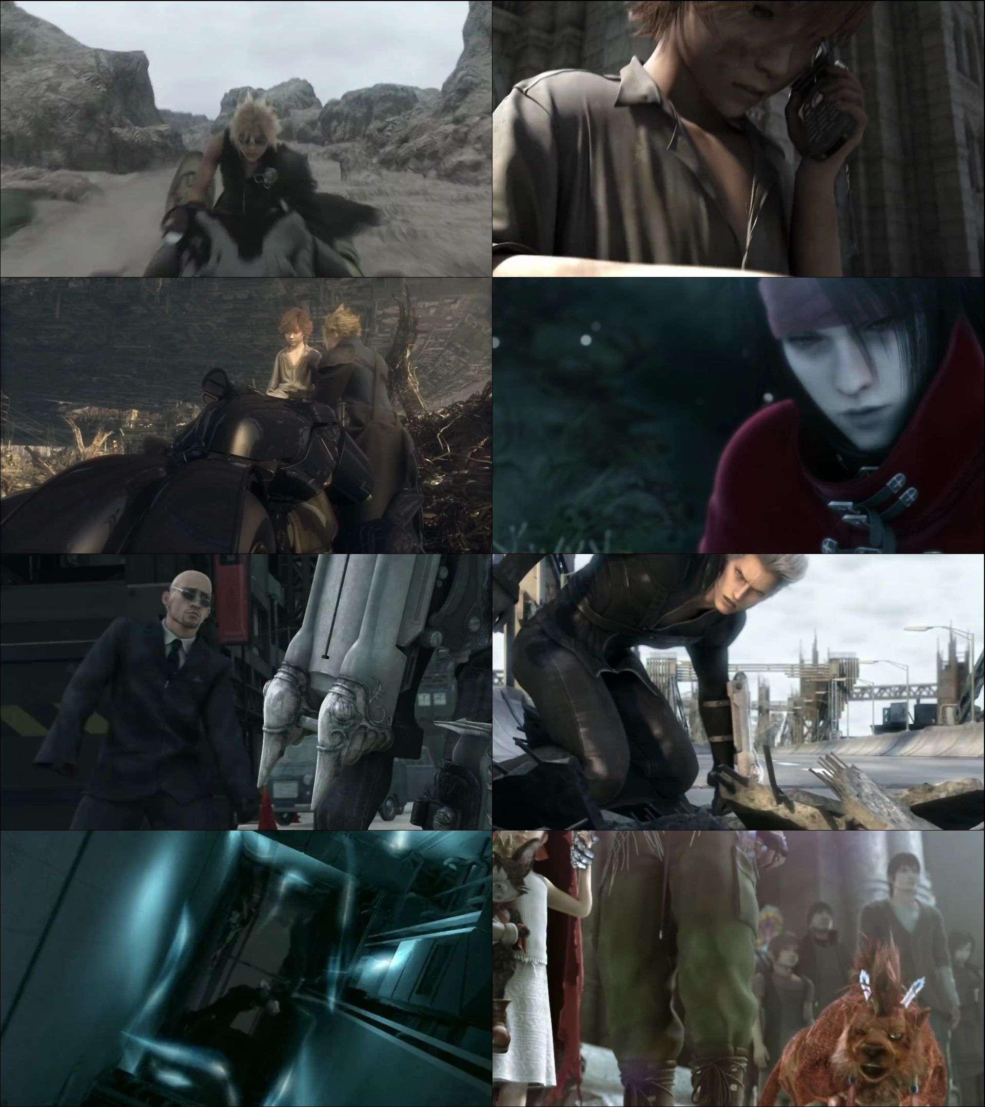 Final Fantasy 7 - Fainaru Fantajî Sebun Adobento Chirudoren (2005) türkçe dublaj film indir