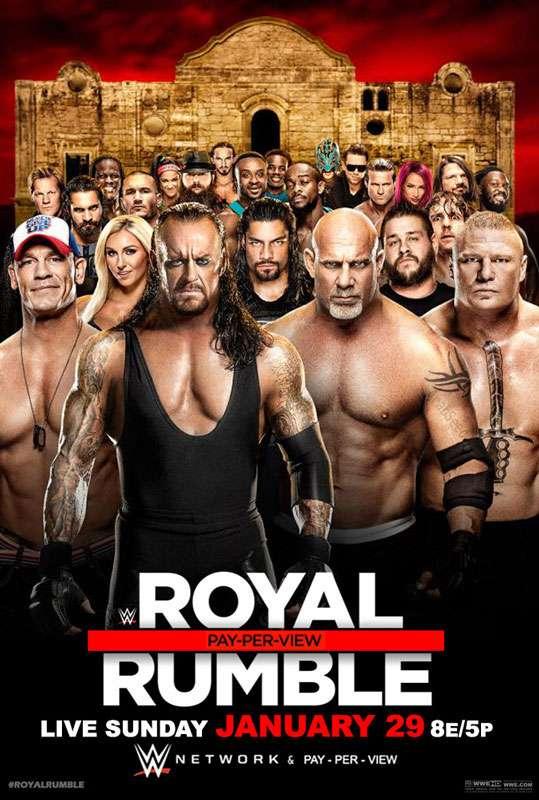 العرض المنتظر Royal Rumble 2017