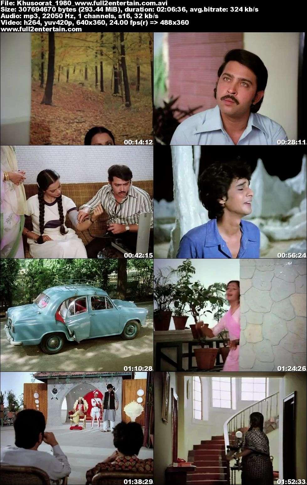 Khubsoorat 1980 Full Movie Download Free in Dvdrip 480p