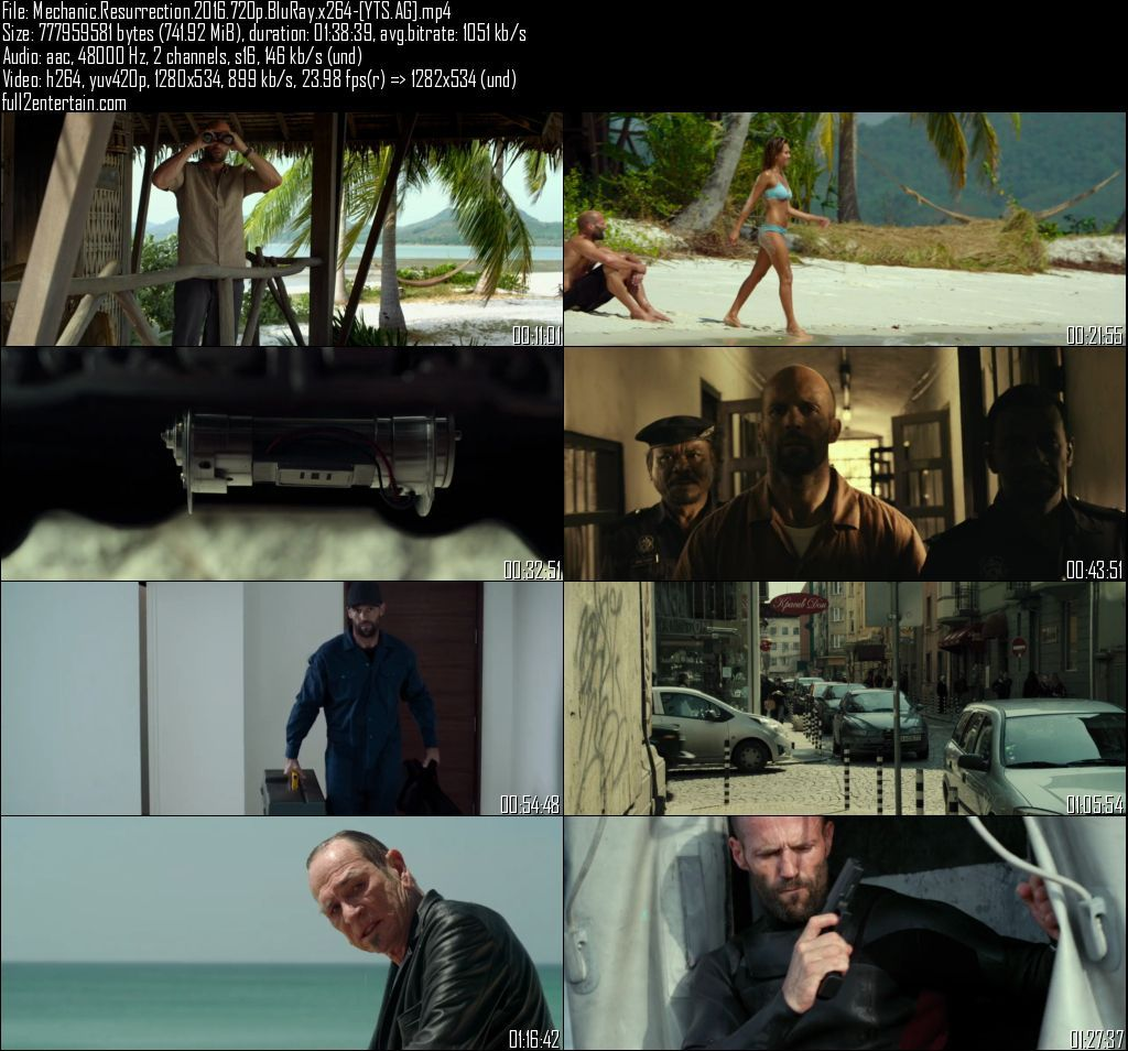 Mechanic: Resurrection 2016 Full Movie Free Download HD