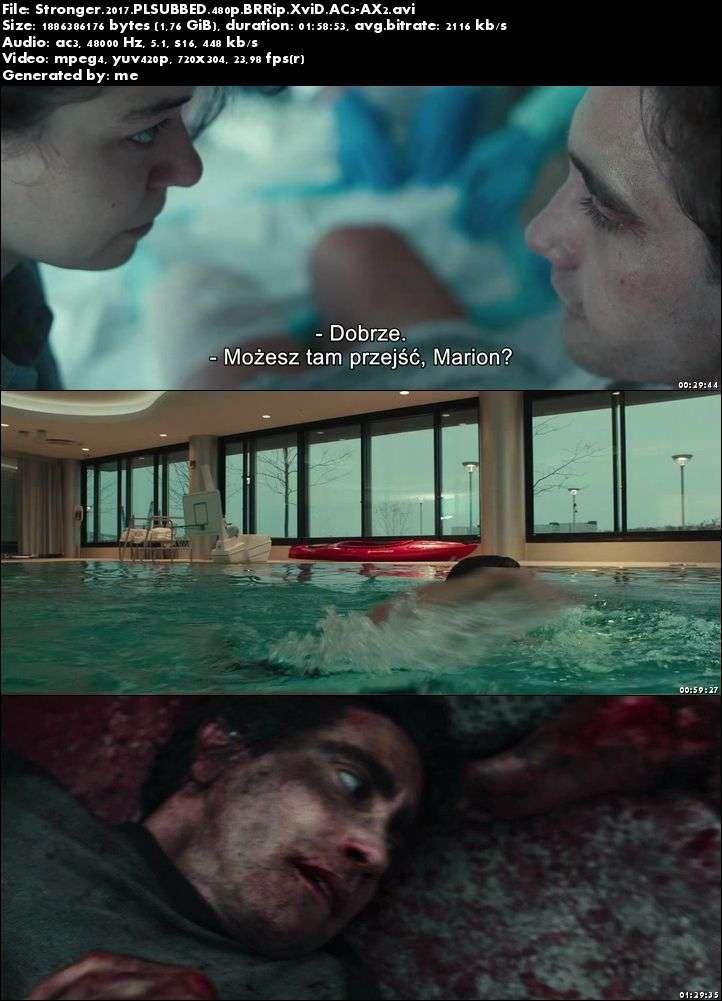 Niezwyciężony / Stronger (2017)