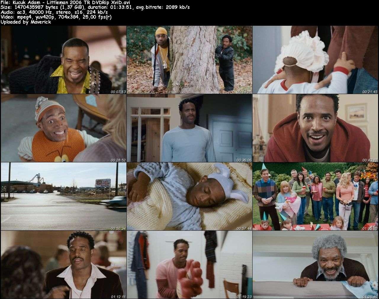 Küçük Adam - 2006 Türkçe Dublaj DVDRip indir