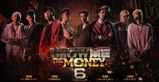 """""""Show Me The Money 6"""" Reveals Cool Infographic That Maps Out Producers' Music Careers"""