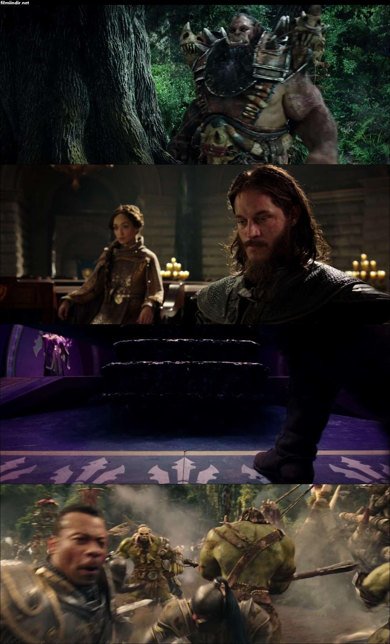 Warcraft: İki Dünyanın İlk Karşılaşması (2016) türkçe dublaj film indir