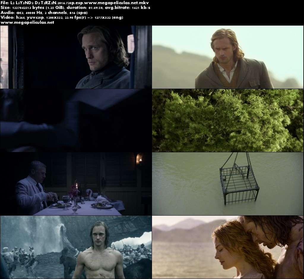 Capturas de La Leyenda De Tarzan (2016) [BrRip 720p][Latino]