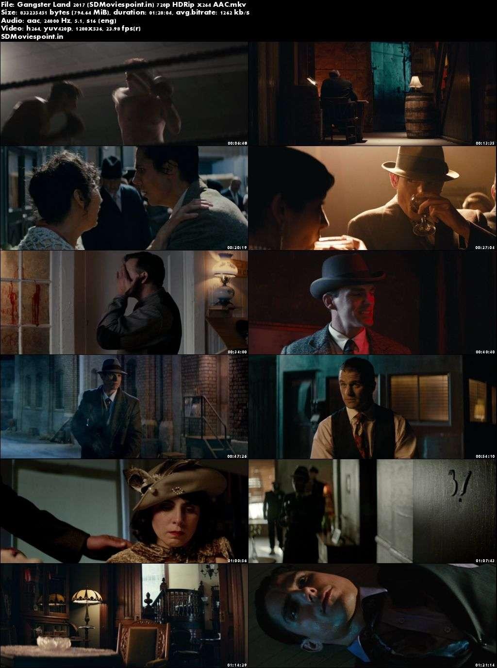Screen Shots Gangster Land 2017 Full HD Movie Download English Free