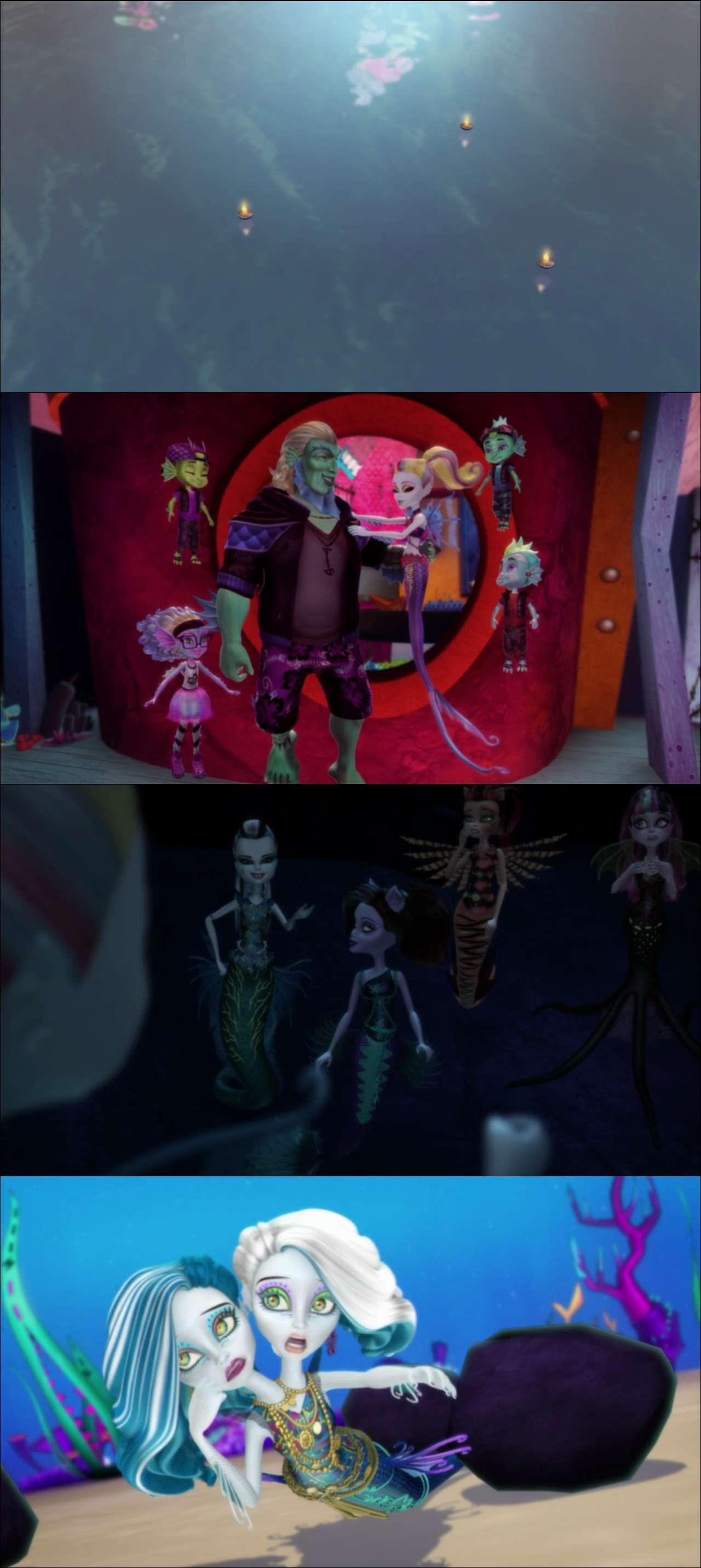 Monster High: Derin Sulara Yolculuk 2016 türkçe dublaj animasyon indir