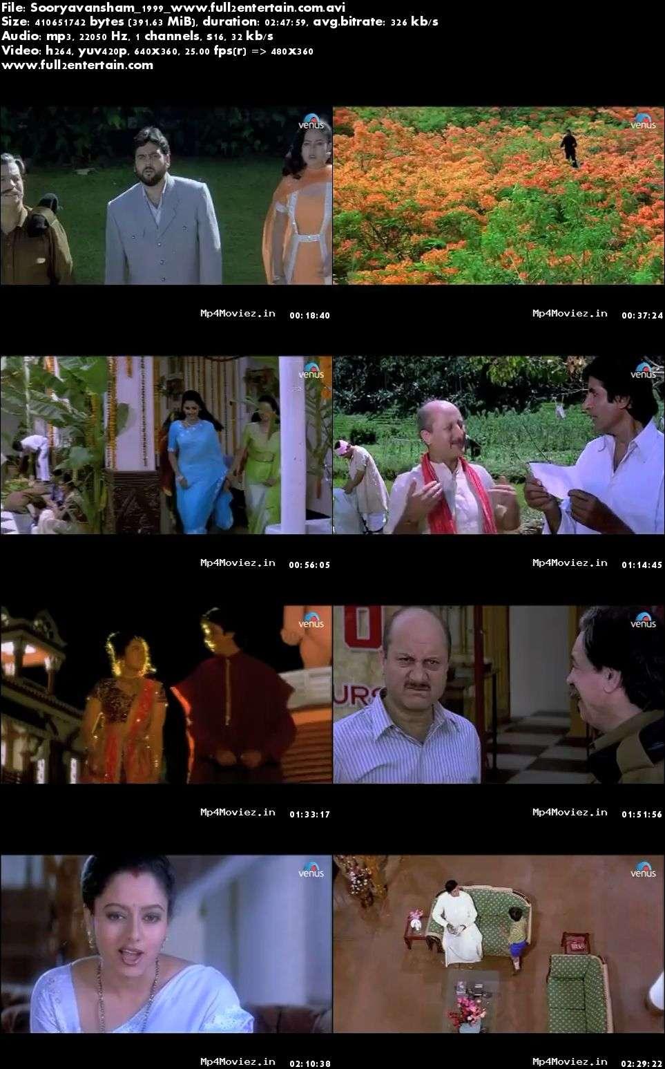 Sooryavansham 1999 Full Movie Download Free in Bluray 720p