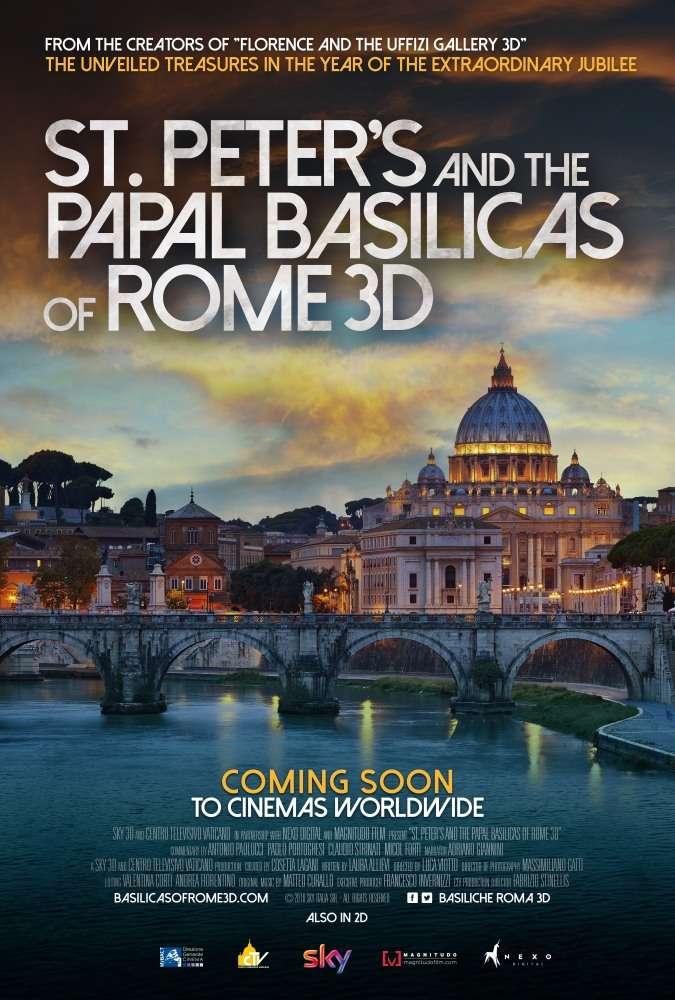 Собор Святого Петра и Великая базилика в 3D | BDRip 1080p | 3D-Video | HOU | P