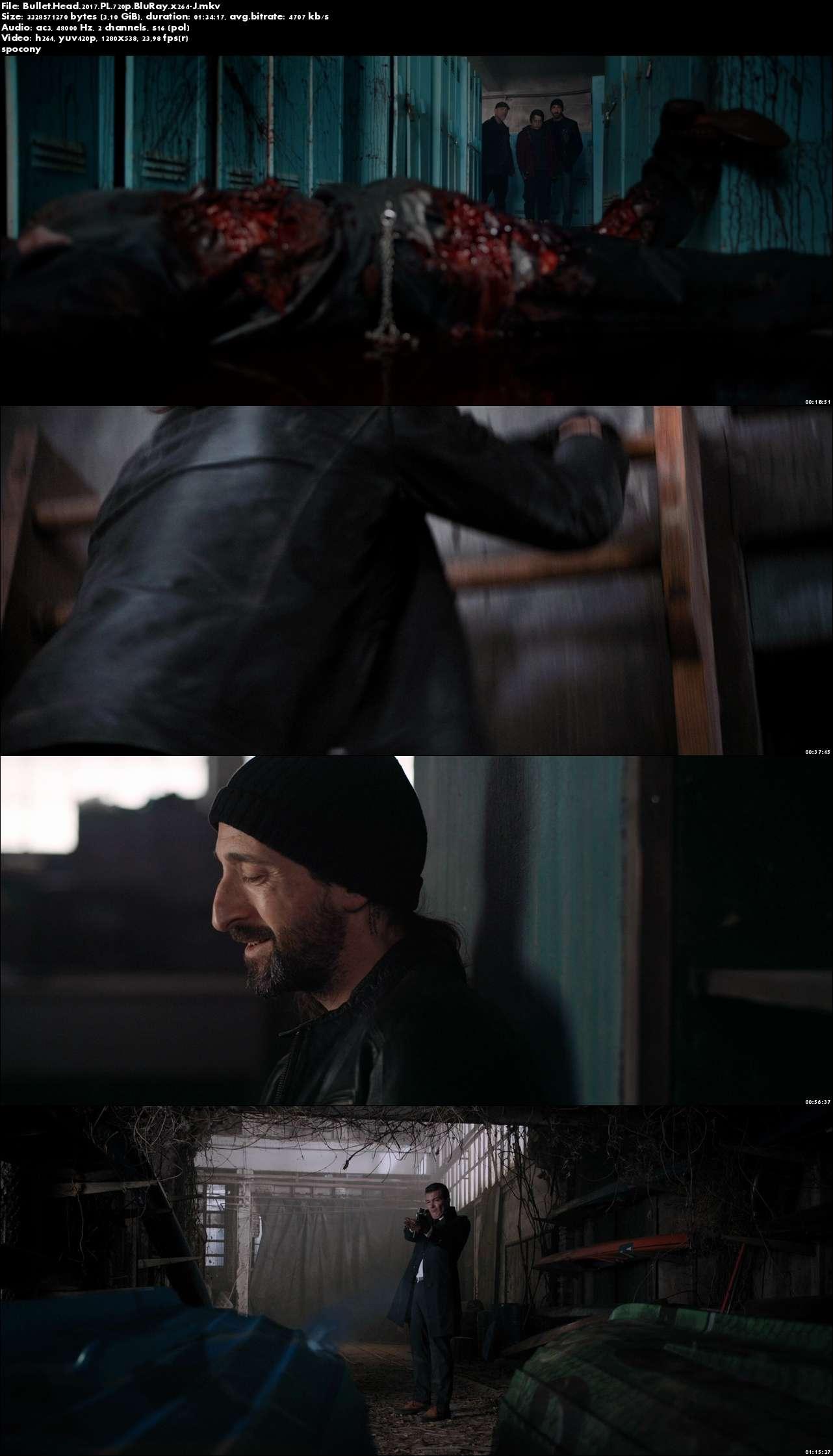 Bullet Head (2017) PL.720p.BluRay.x264-J [Lektor PL]