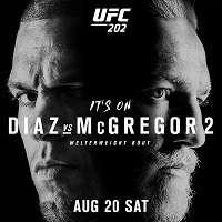 Смешанные единоборства. UFC 202: Diaz vs. McGregor II + Основной кард [20.08] | IPTVRip-AVC