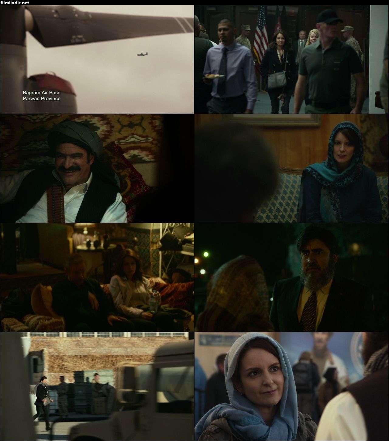 Whiskey Tango Foxtrot (2016) hd türkçe dublaj film indir