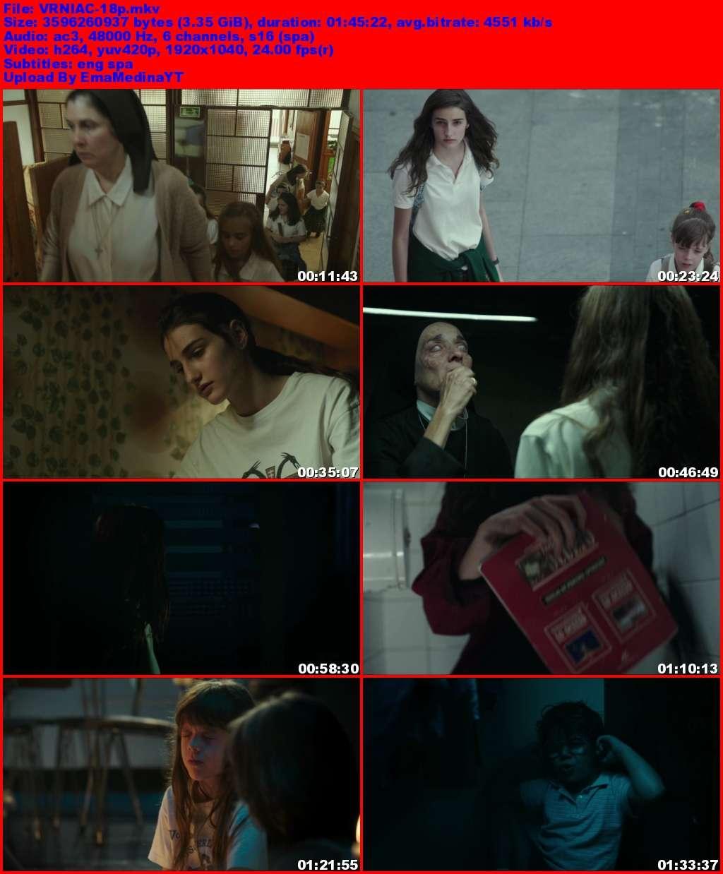 Verónica [2017] [HD 1080p y 720p] [Castellano] [MG+]