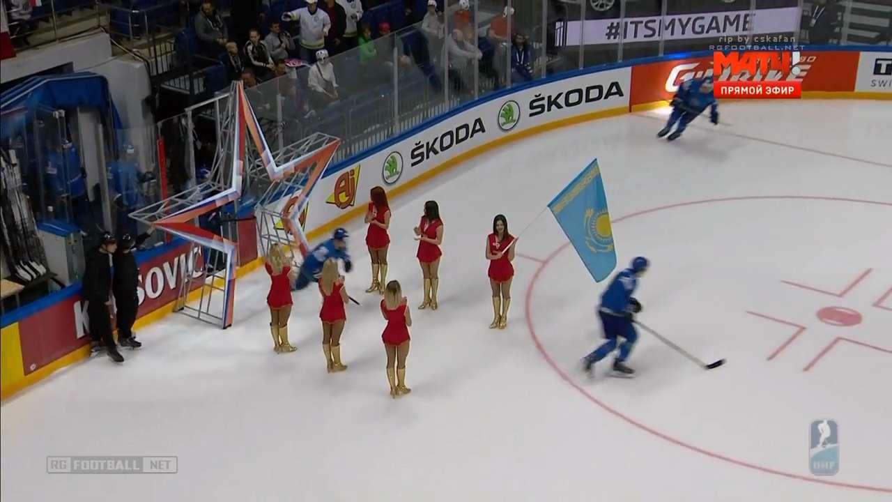 Хоккей. Чемпионат мира 2016. Группа А. 5 тур. Чехия – Казахстан [13.05] | HDTVRip 720p | 50fps