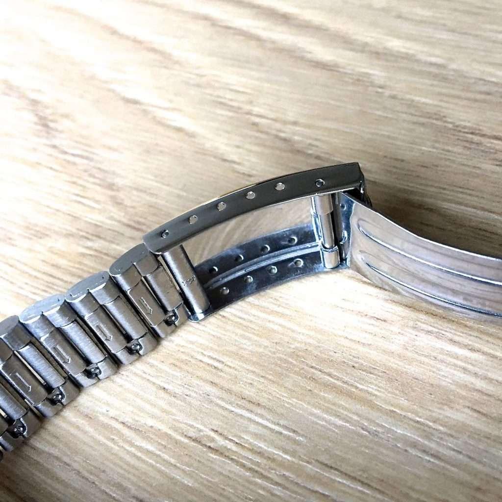 Seiko SNXG47K Armbandverstellmöglichkeit