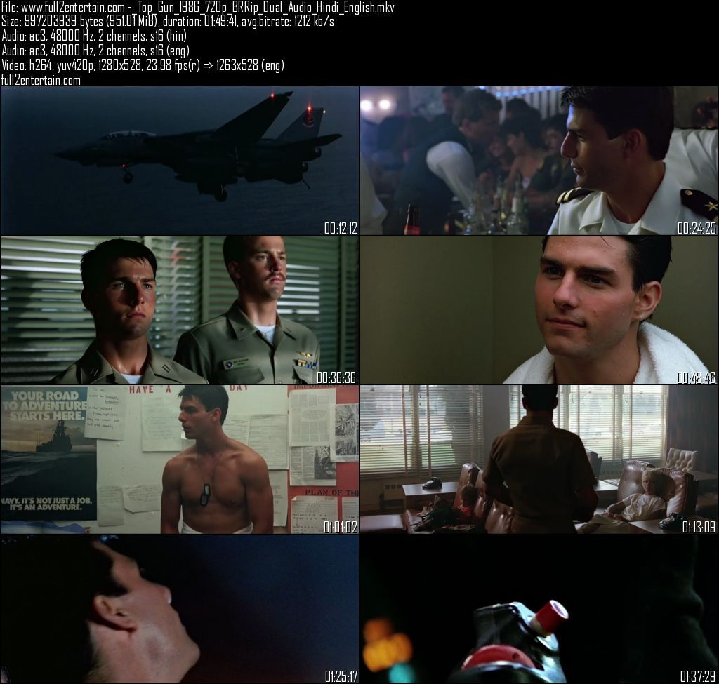 Top Gun (1986) Full Movie Dual Audio Free Download HD