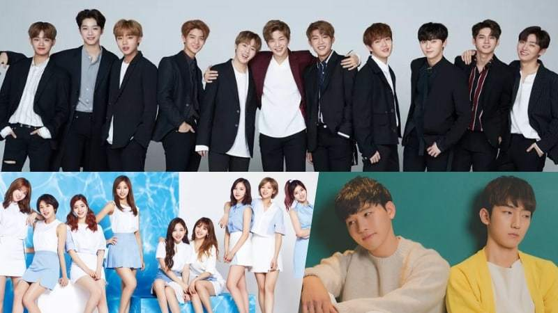 Wanna One, TWICE, And MeloMance Top Weekly Gaon Charts