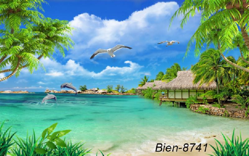 Phong cảnh biển mát rượi