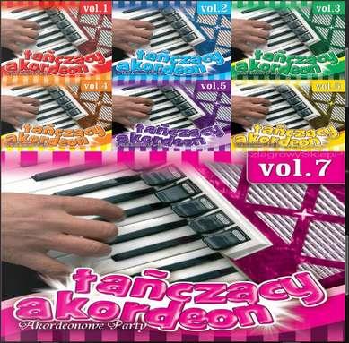 Janek Stokowski - Tańczący akordeon. Akordeonowe Party Vol.1-7 (2016)