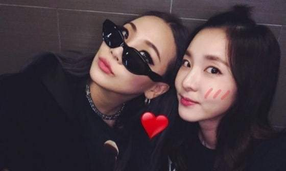 Sandara Park Gets An Encouraging Boost From CL Before Her Rehearsal