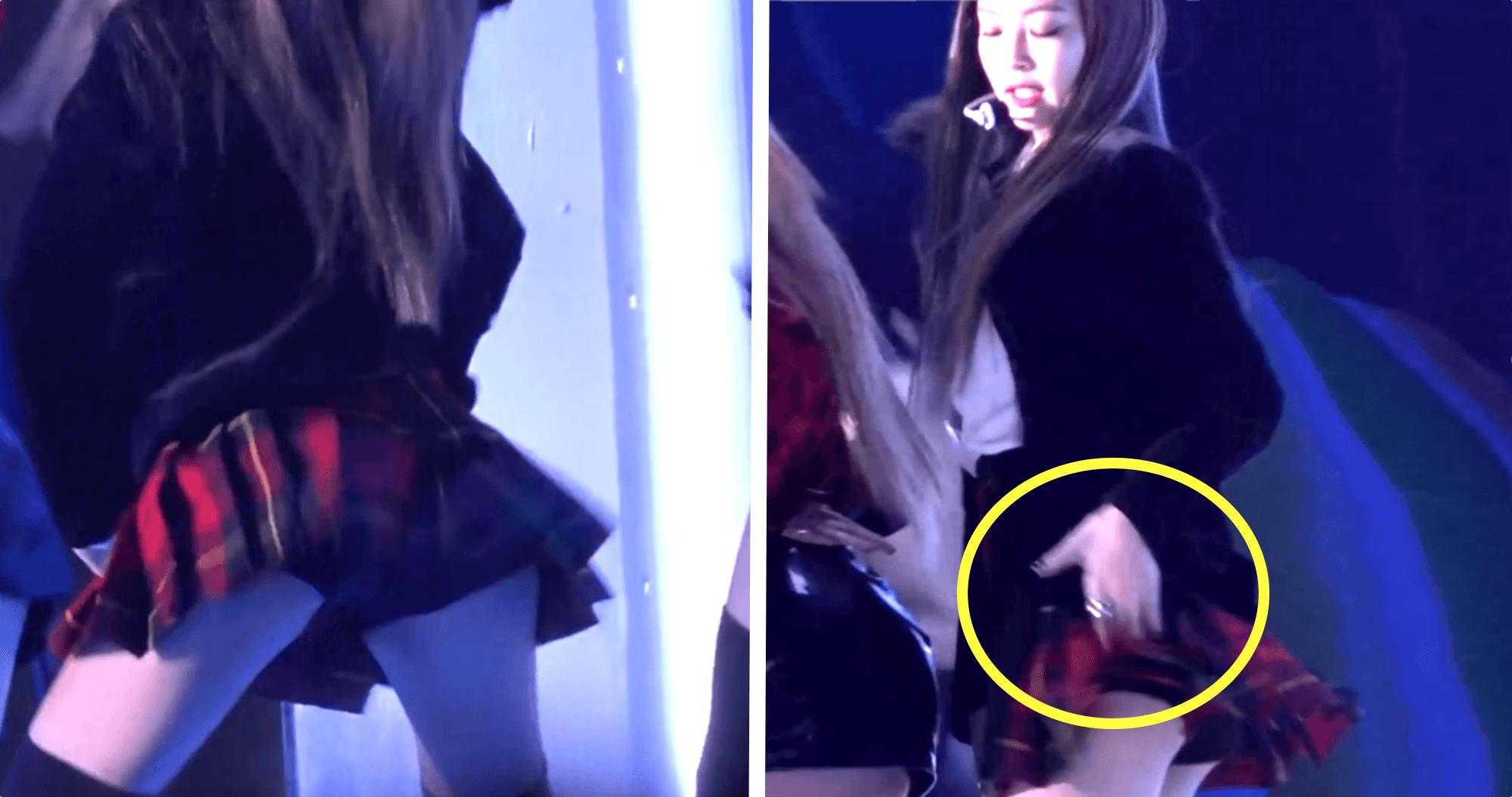 BLACKPINK Jennie Performs In Dangerously Short Skirt